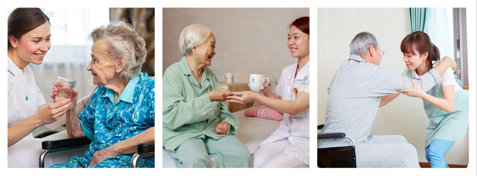 Giúp việc chăm sóc người già tại quận 11