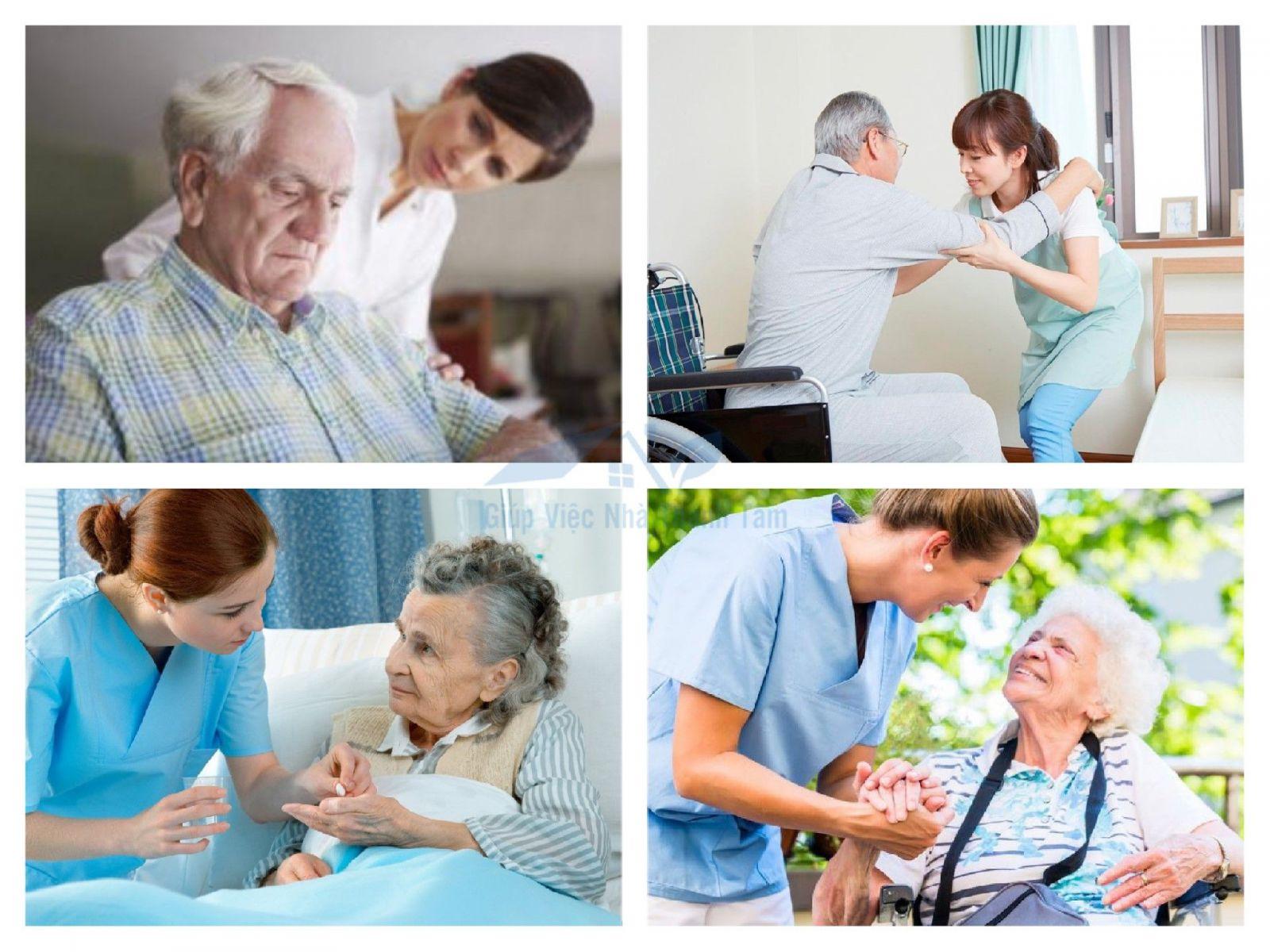 Dịch vụ chăm sóc người già, nuôi bệnh nhân quận Tân Bình