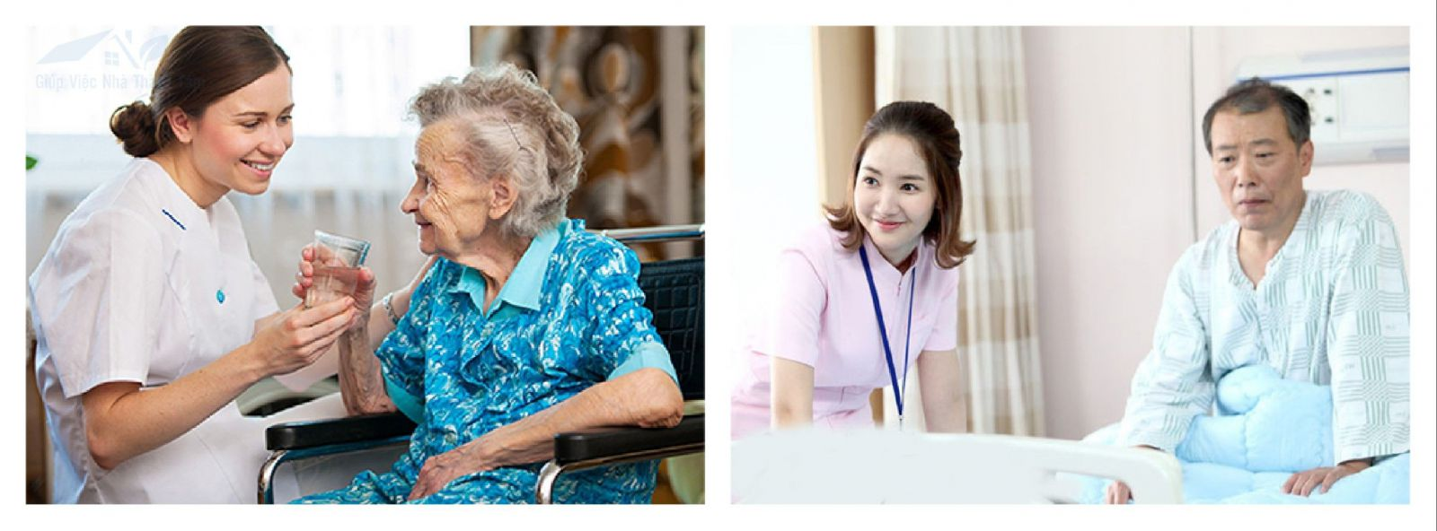 Giúp việc chăm sóc người già, người bệnh tại quận 6