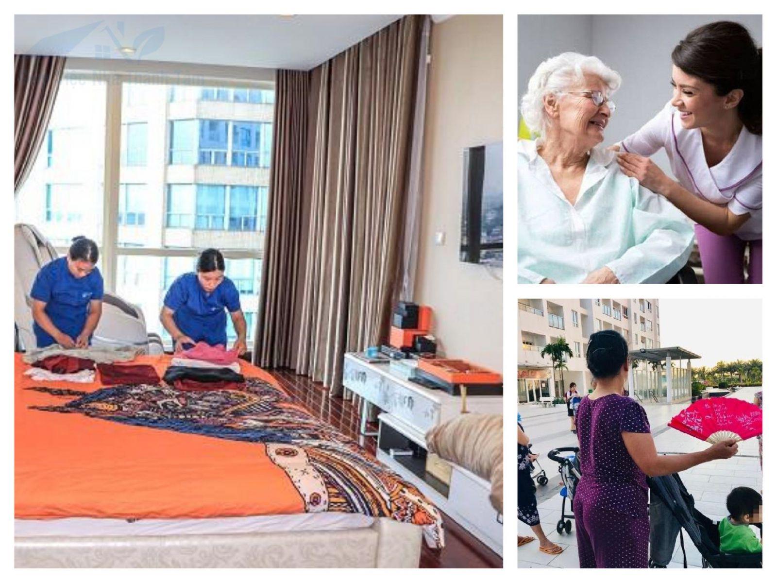 Dịch vụ cho thuê người giúp việc ở lại nhà tại quận Bình Tân