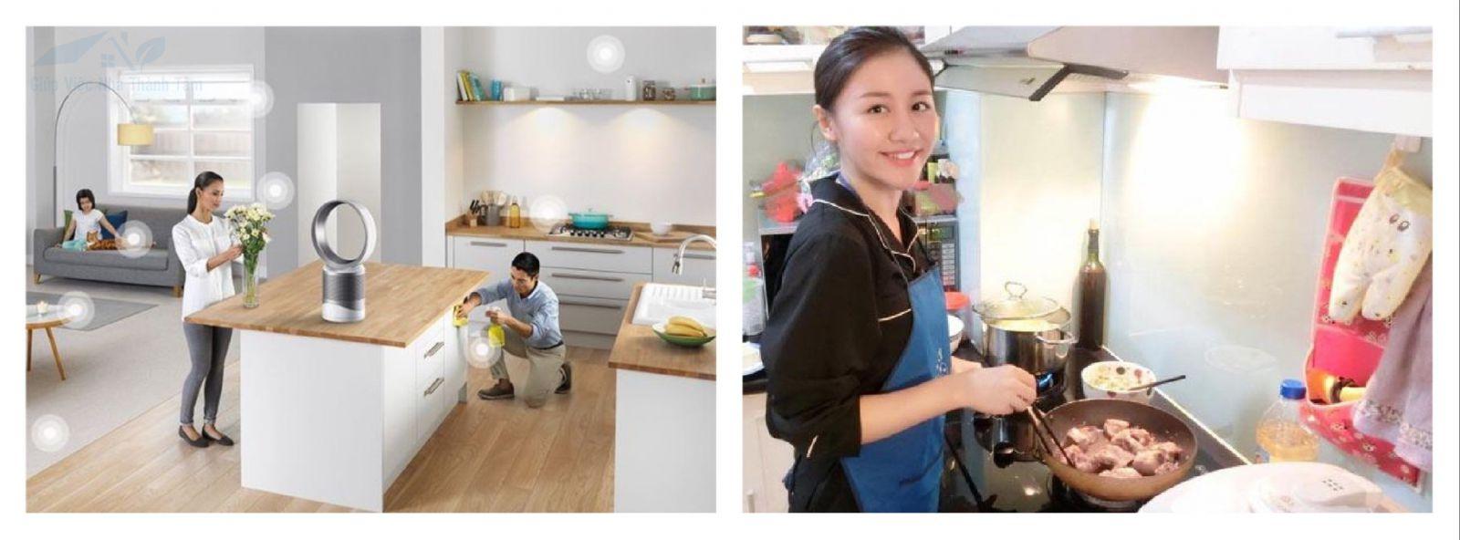 Dịch vụ giúp việc nhà tại huyện Hóc Môn