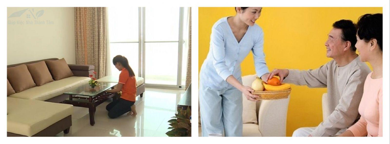 Dịch vụ giúp việc nhà tại quận Bình Tân