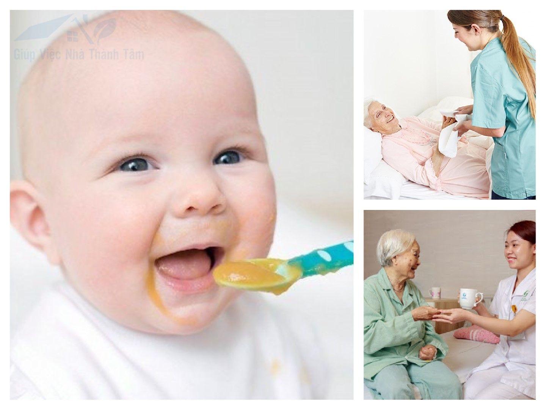 Giúp việc chăm em bé, chăm sóc người già bệnh tại quận 12