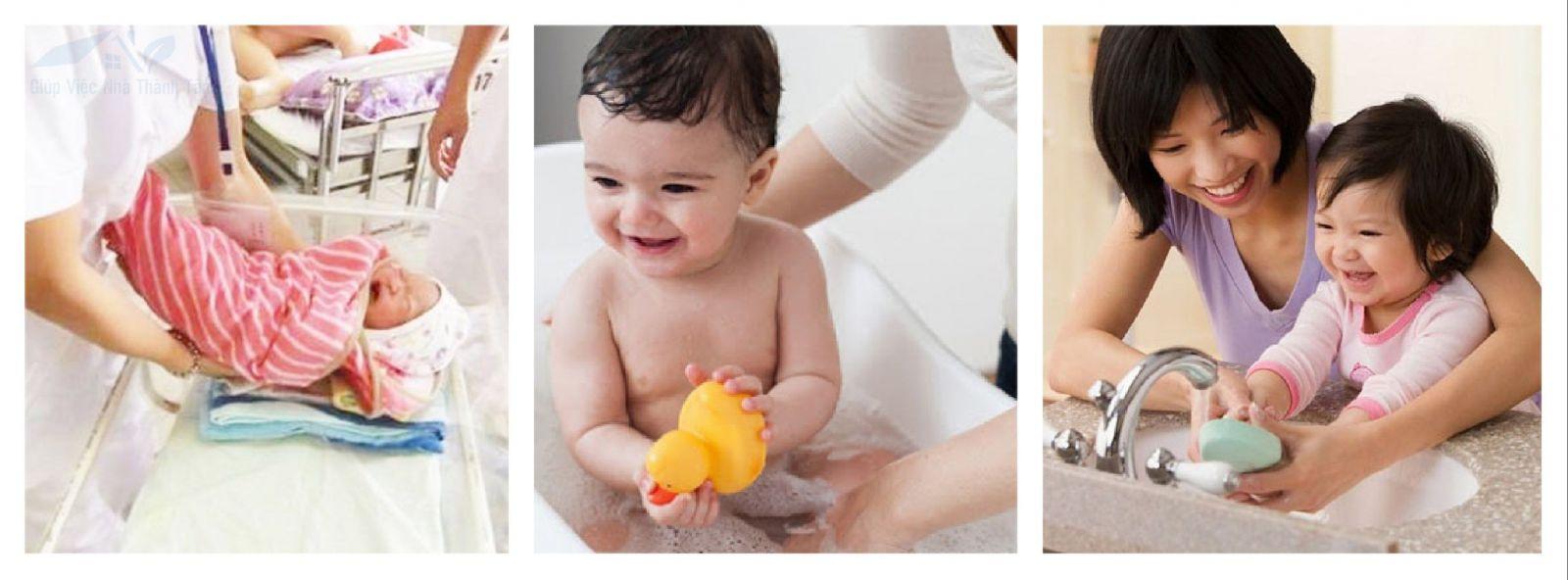 Giúp việc nuôi sanh, chăm sóc em bé sơ sinh quận 11