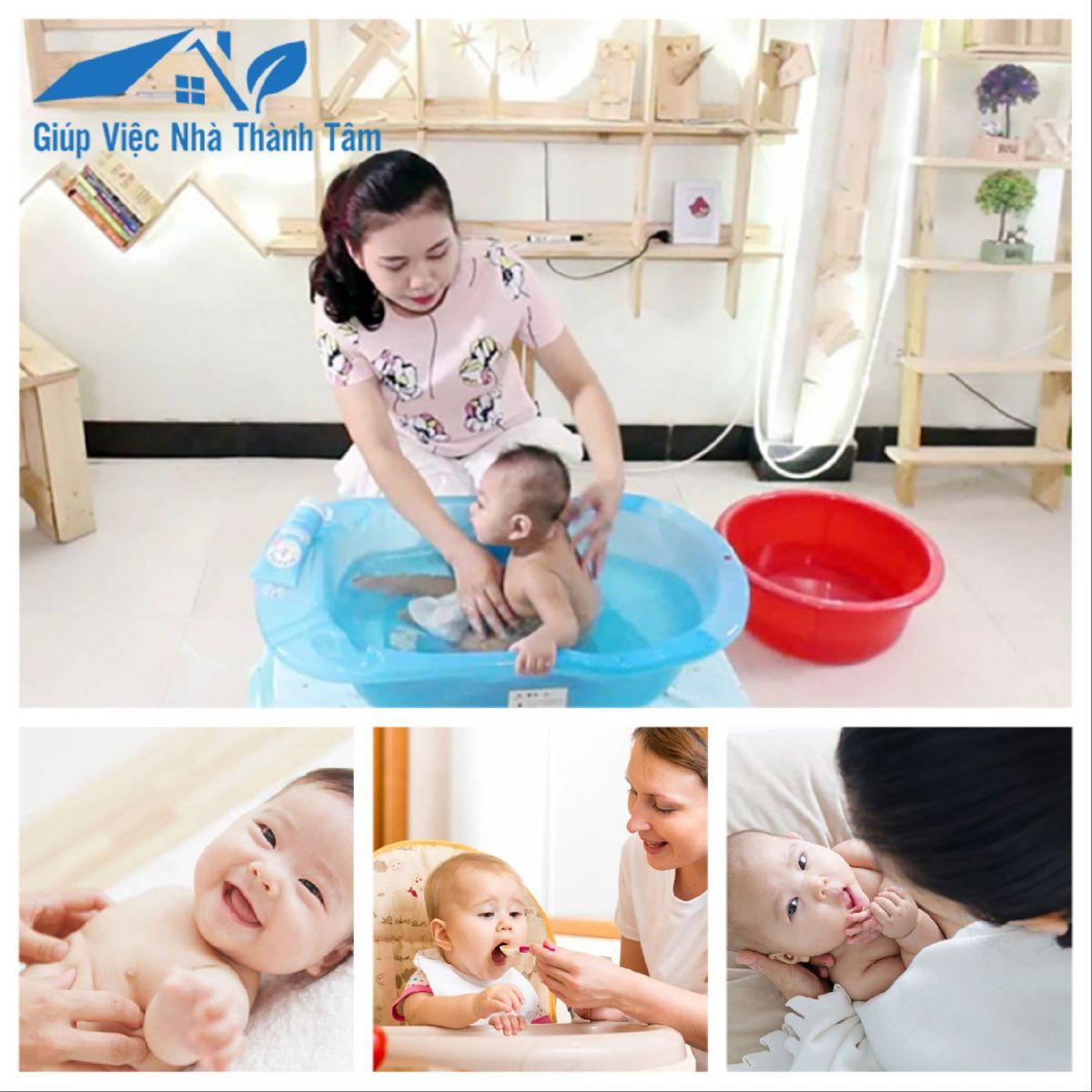 Dịch vụ giúp việc chăm em bé quận Tân Bình