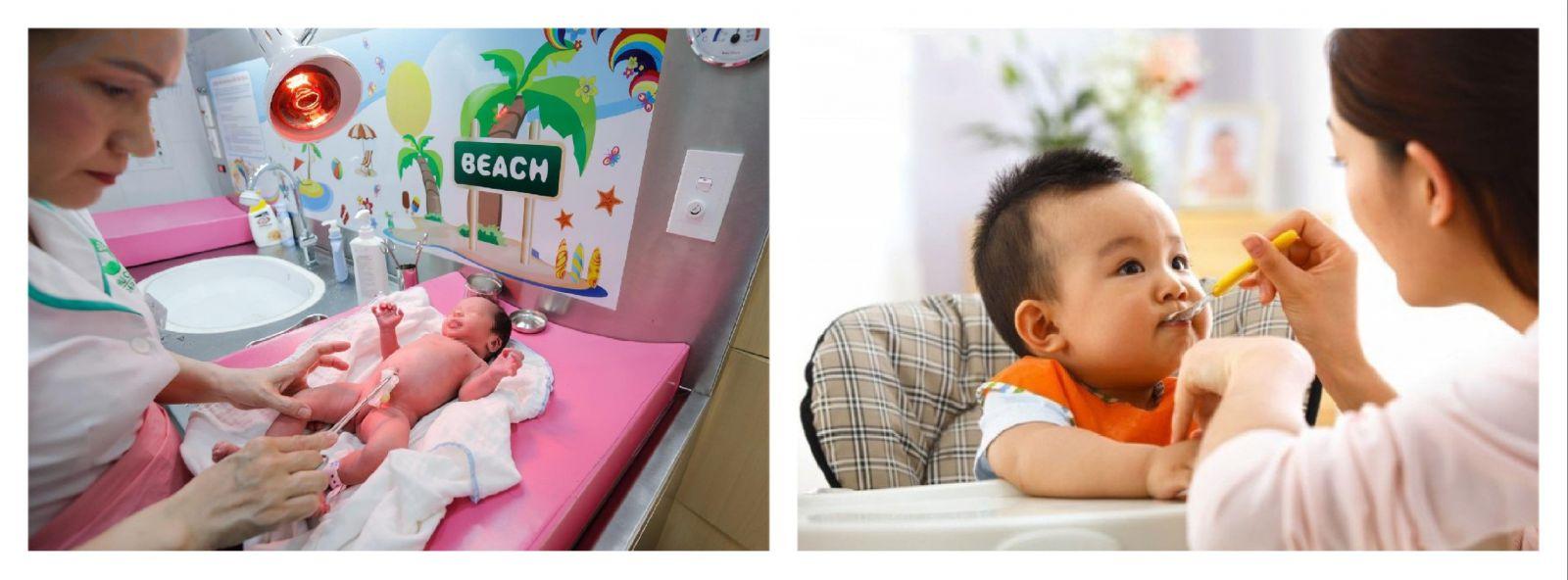 Giúp việc chăm sóc em bé tại quận 8