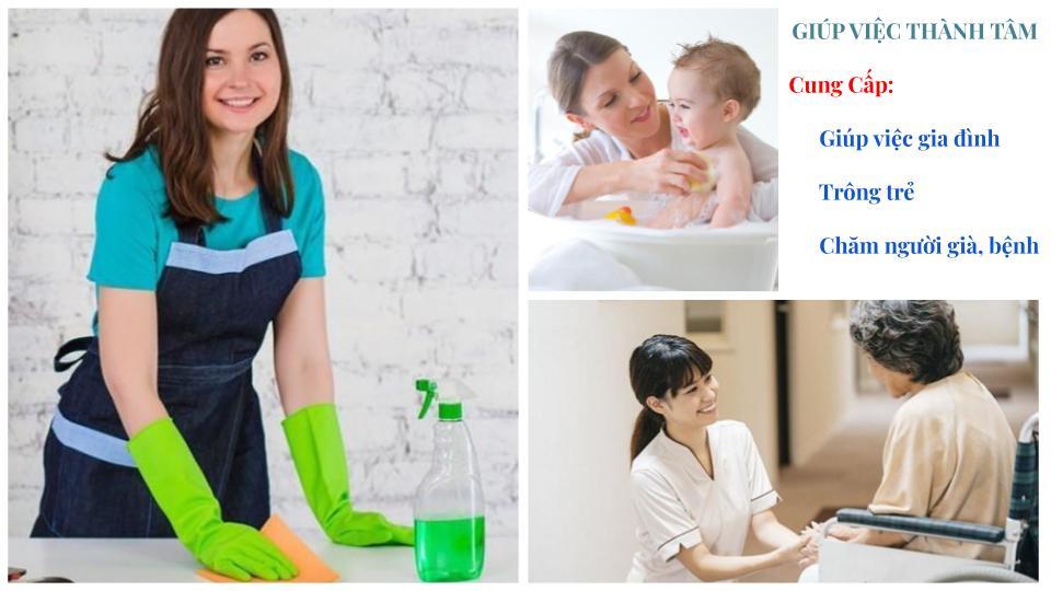 Dịch vụ giúp việc gia đình Thành Tâm