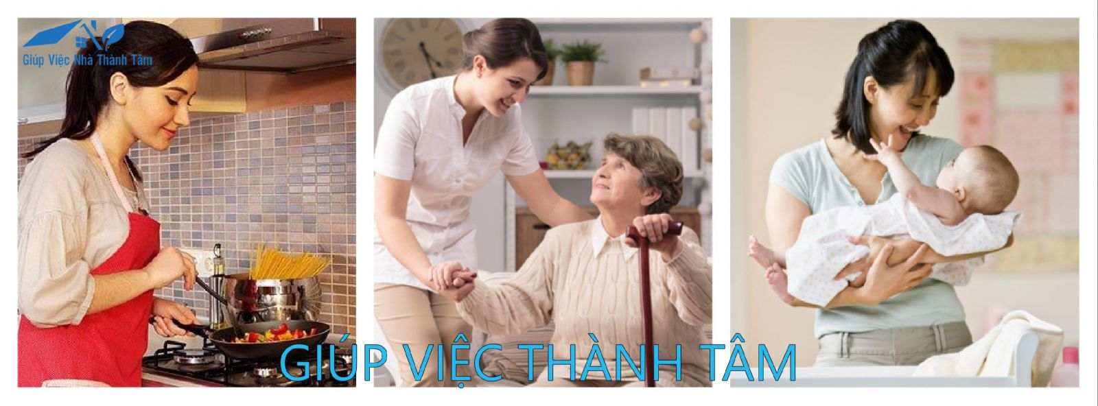 Giúp việc giữ trẻ, chăm sóc người già, người bệnh tại quận 5