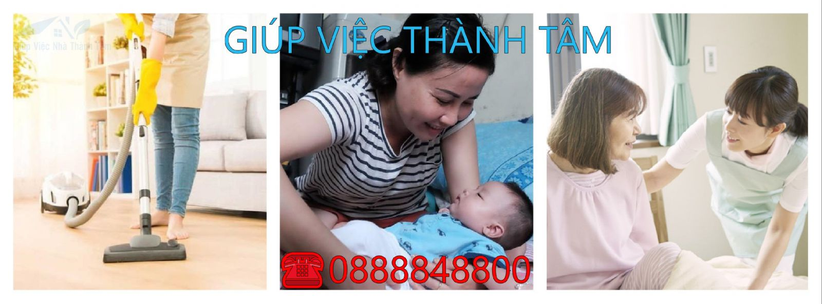 Giúp việc giữ trẻ, chăm sóc người già bệnh tại quận 4