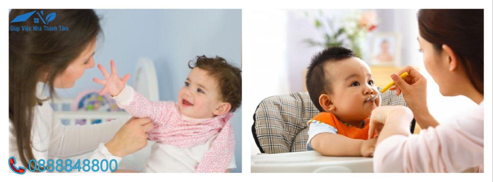 Dịch vụ giúp việc trông trẻ 6 tháng tuổi Thành Tâm