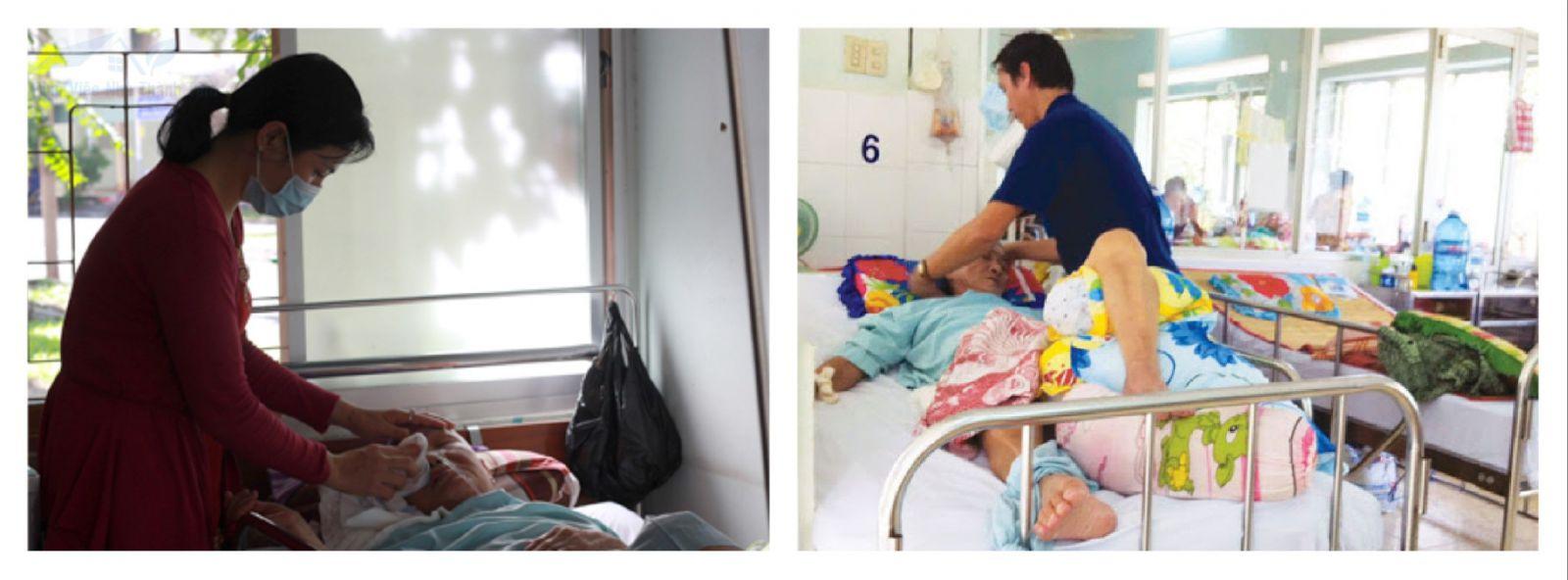 Giúp việc nuôi người bệnh tại quận 4