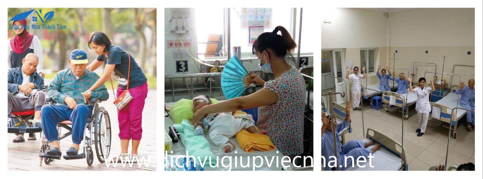 Giúp việc nuôi người bệnh tại quận 11